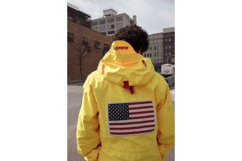 supreme-the-north-face-2017-spring-summer-lookbook-yellow-pullover-2