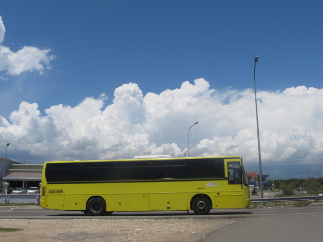 JUTC Bus in Kingston by Raynor Allen