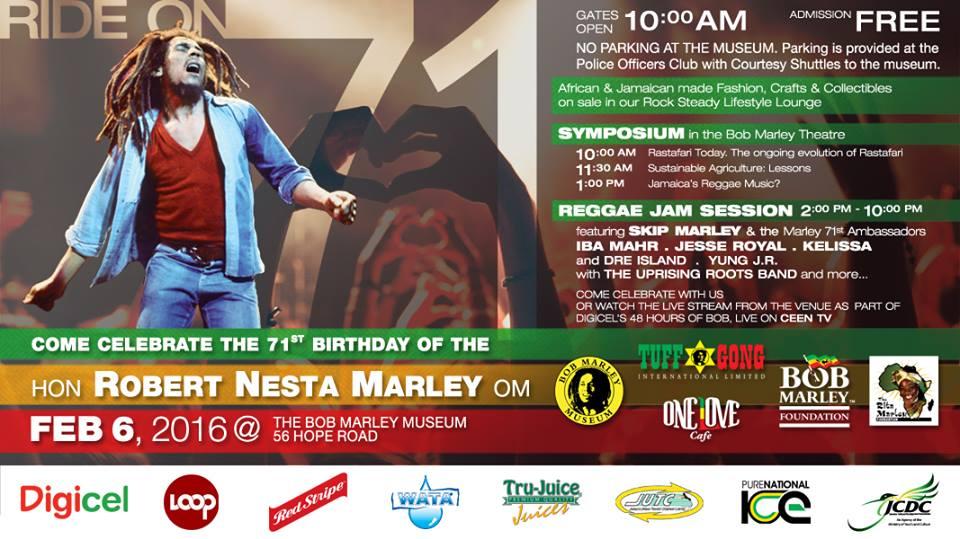 Bob Marley Birthday 2016