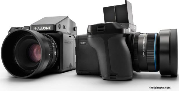 Most expensive dslr camera 2017 is phase one XF 100MP