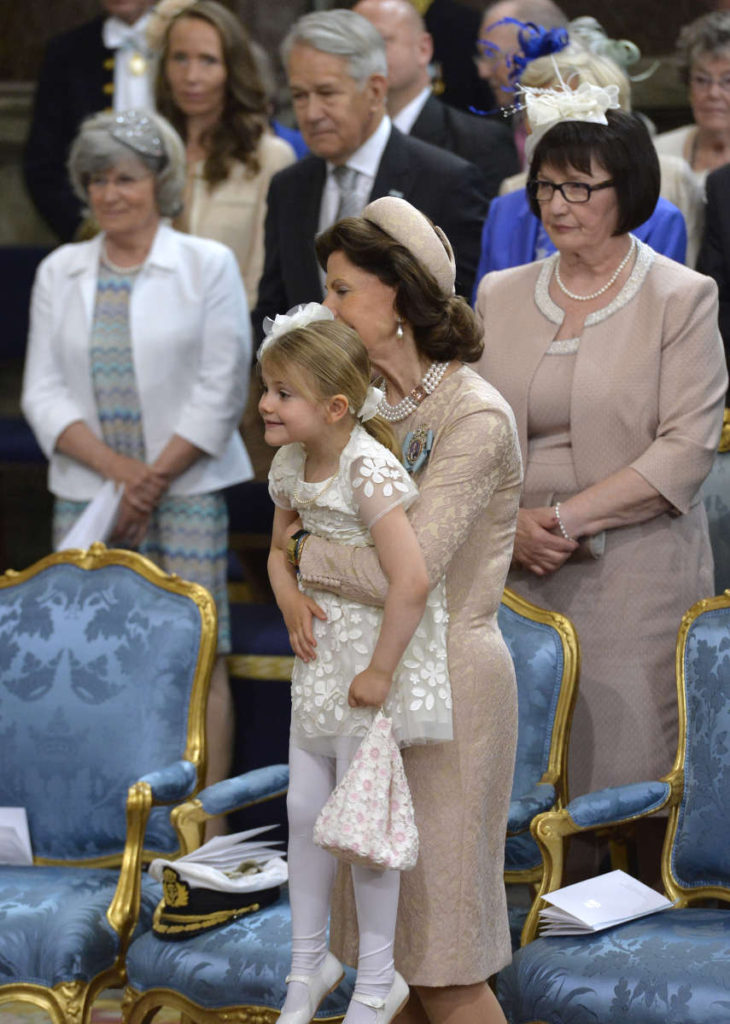 Swedens Prince Oscar Gets Christened Royal Kids Steal