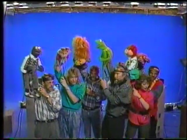 the muppets being performed