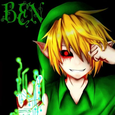 scary game zelda ben drowned