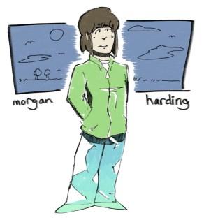 non-binary morgan harding