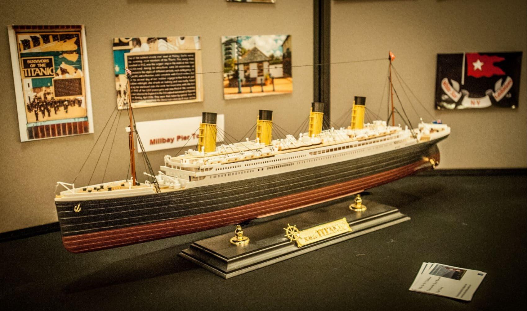 Titanic Exhibition at The Duke  The Duke of Cornwall