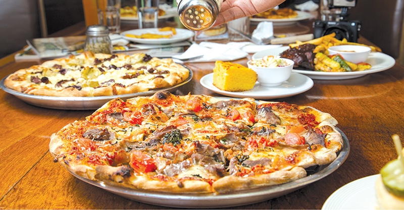 The best pizza in Chiang Mai at The Duke's restaurant