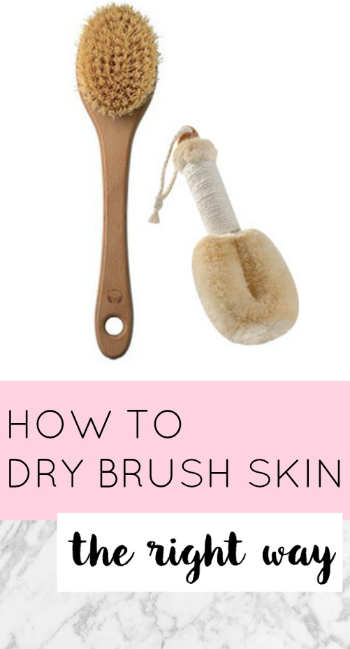 How To Dry Brush Skin The Right Way The Dumbbelle