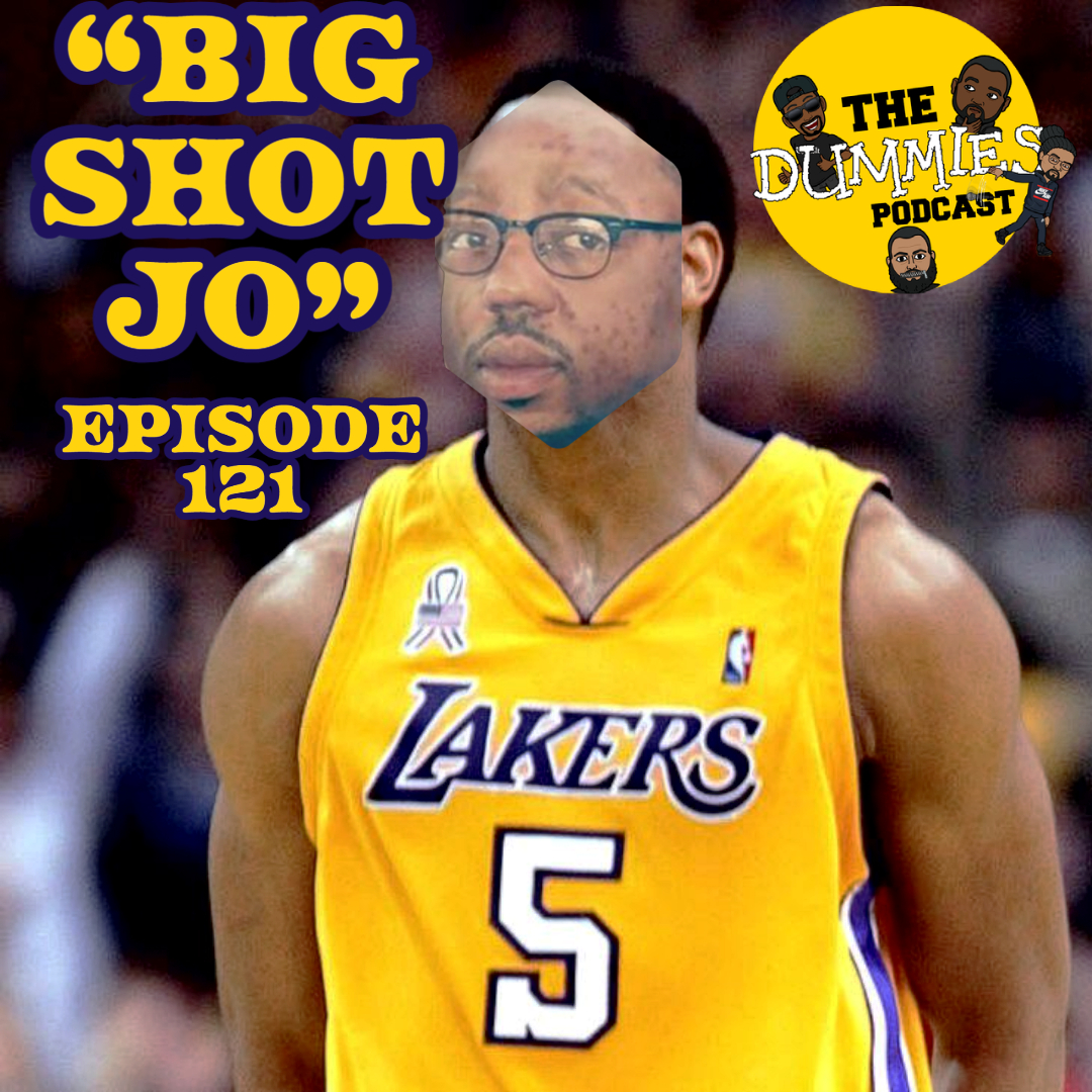 """Big Shot Jo"" The Dummies are back with yet another fun filled episode. But today's episode won't be your usual Dummies Podcast. Jo and Stock hold it down as some improvising had to be made at the last minute, but although two of the guys were out, they bring some high energy and normal antics just as The Dummies do weekly. Also on this week's episode, the CDC release COVID-19 Vaccinations Side Effects list. Listen in to see what they consist of. The Dummies discuss Coach Prime has his personal items, stolen but they were later recovered. Listen in to hear what else the guys are still listening to and albums they recommend for the week. Be sure to tune in as the guys weigh in and share their about ""Yo MTV Raps and Unplugged"" make their return to prime time tv. With the latest in sporting news to follow, as well as other topics, The Dummies are just thrilled to be able to bring you, our listeners a fresh New episode of one of the fastest growing podcast around. So tune in and try to figure out this week's hilariously funny ""Dummy of The Week"" on this all new episode of The Dummies Podcast! ""Big Shot Jo"" Ep. 121 by The Dummies Podcast. Released: 2021. Genre: Podcast."