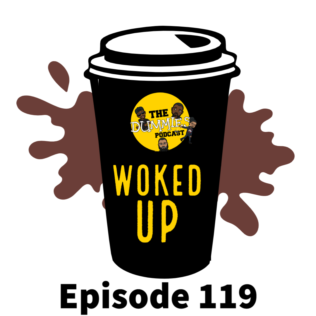"""Woked Up"" The Dummies are back with yet another fun filled episode. As usual, the guys bring you a great show filled with their usual high energy and wittiness on one of the fastest growing podcast going! On this week's episode we talk Valentine's Day. Listen in to hear some of the do's and don't provided to you by the seasoned dating dummies. Also on this week's episode, the guys discuss the newest movie, ""Judah and The Black Messiah"". Listen in as they lend their perspectives on the epic biopic and soundtrack as well. With the latest in sporting news to follow, The Dummies are just thrilled to be able to bring you, our listeners a fresh New episode of one of the fastest growing podcast around. So tune in and try to figure out this week's hilariously funny ""Dummy of The Week"" on this all new episode of The Dummies Podcast! ""Woked Up"" Ep. 119 by The Dummies Podcast. Released: 2021. Genre: Podcast."
