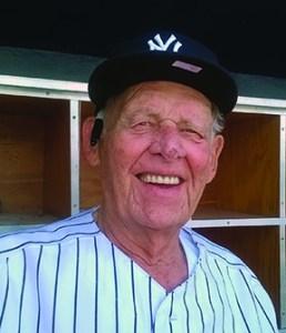 Don Larsen pitched a perfect game during the 1956 World Series.
