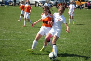 Ione Festko, right, has been selected for the U.S. Youth Soccer Region 1 pool and International roster. Photo Credit: Festko Family
