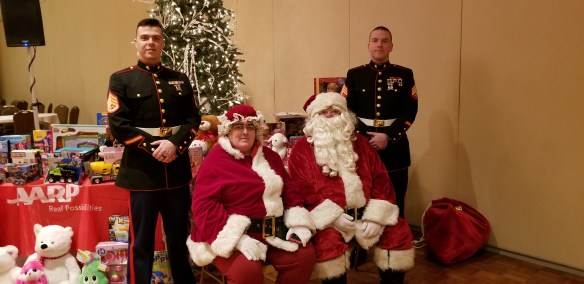 AARP toys for tots