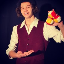 Max Snyder of Madison Township plays P.T. Barnum in the musical Barnum, which opens on April 26 at Act Out Theatre.
