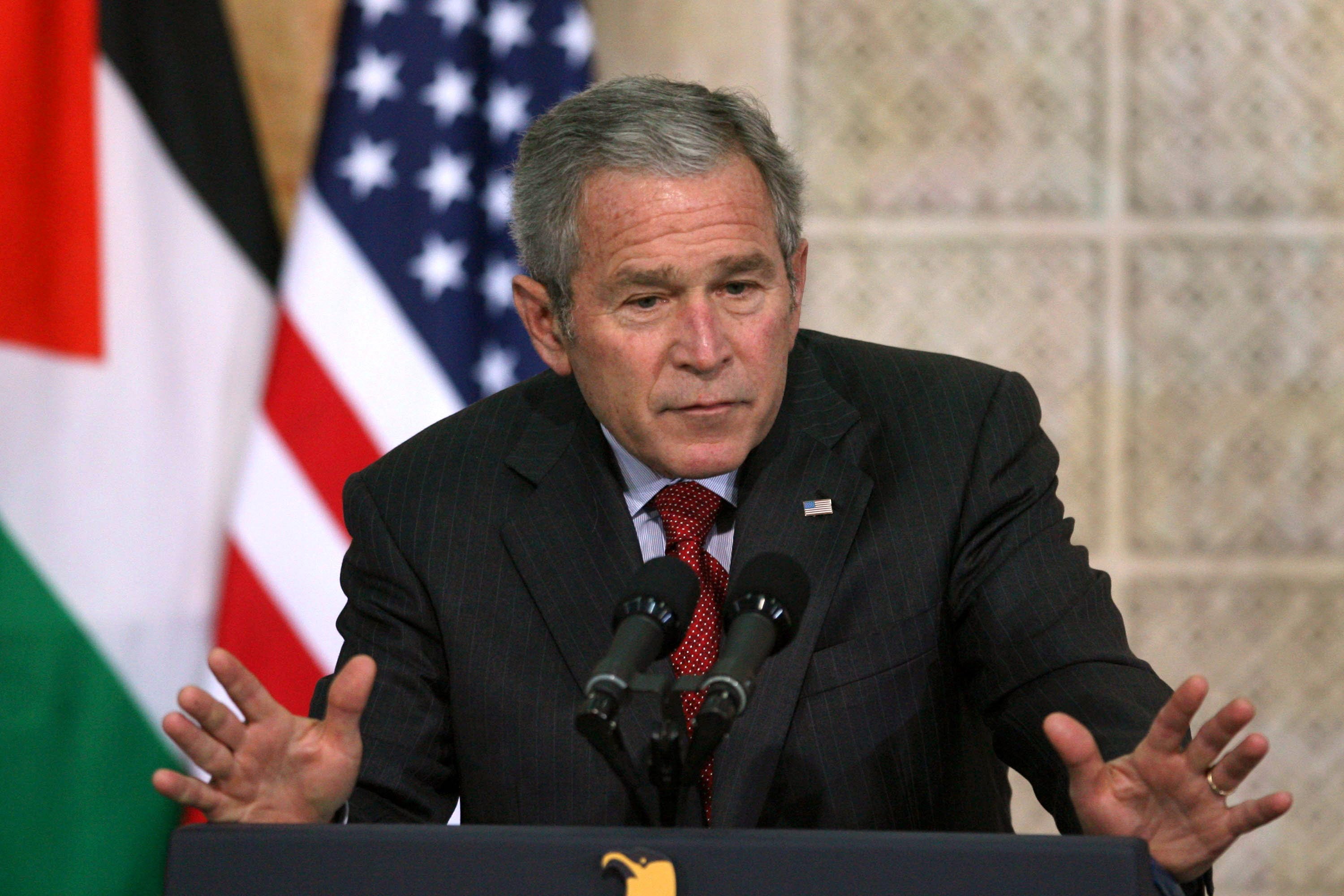 george w bush stands by the war and is embraced by liberal george w bush stands by the war and is embraced by liberal msm video