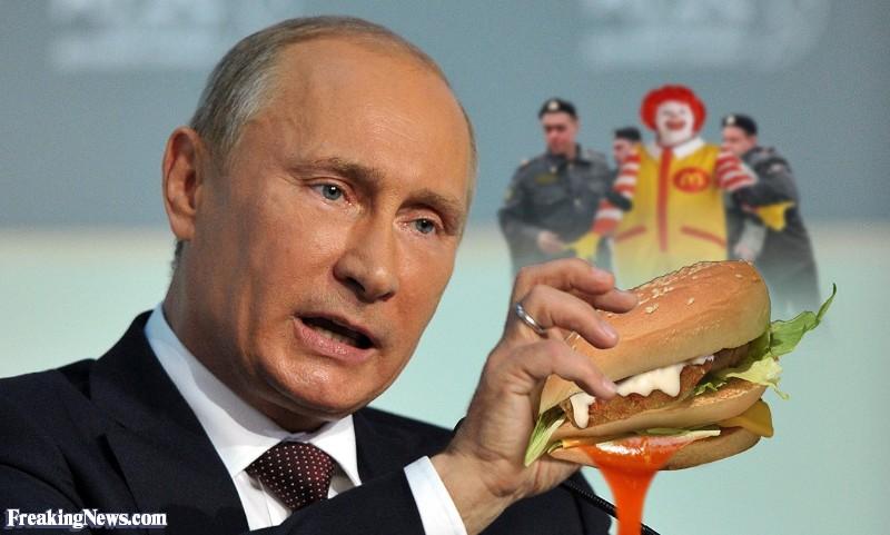 Russia Wants To Sanction McDonalds