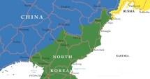 North Korea China Russia Border
