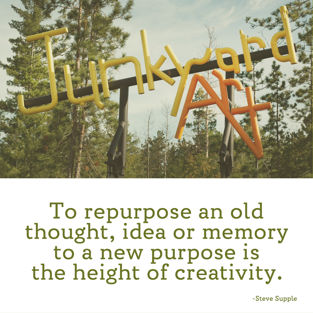 Repurpose Quote by Steve Supple
