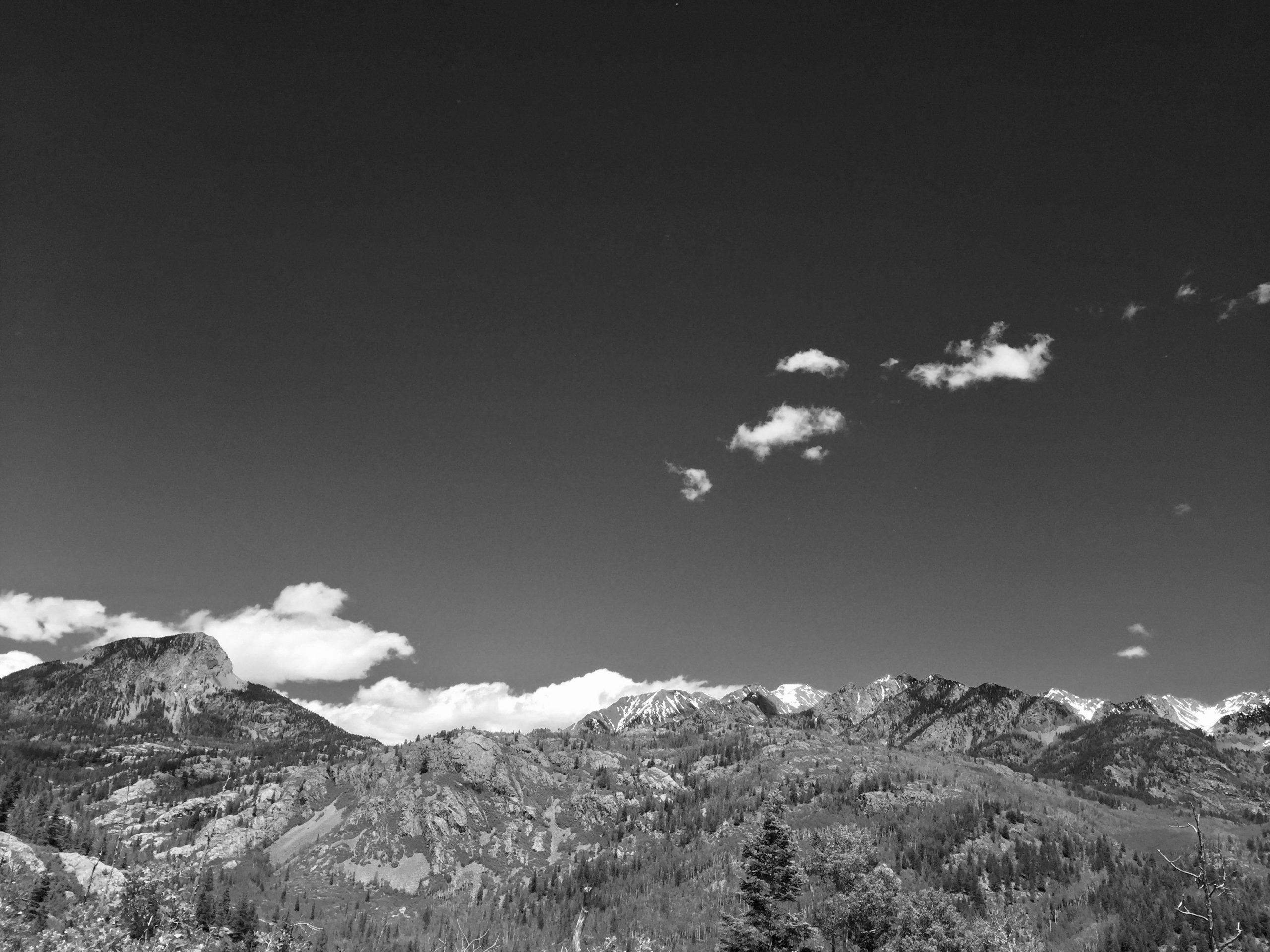 The Durango Wordsmith at Engineer Mountain