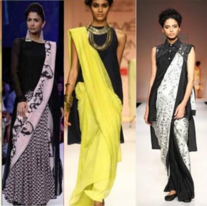 sarees-with-tunics