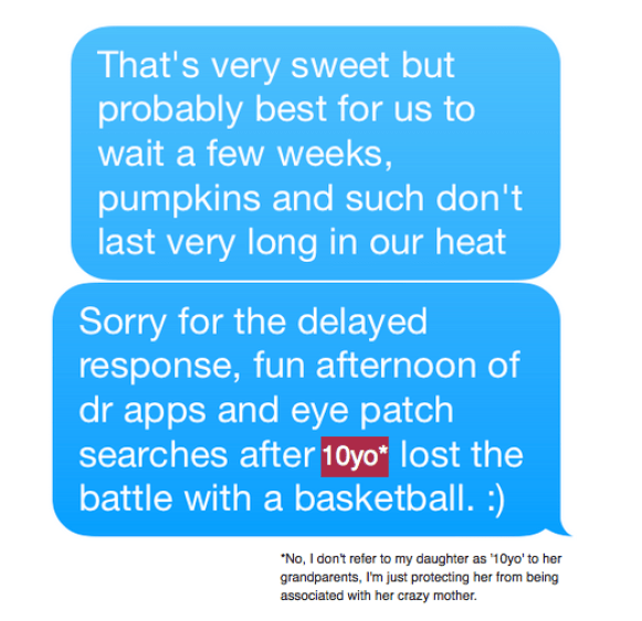 The Pumpkin Text Fail - TheDustyParachute.com