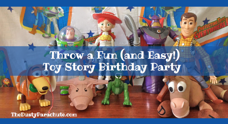 Toy Story Birthday Party - The Dusty Parachute