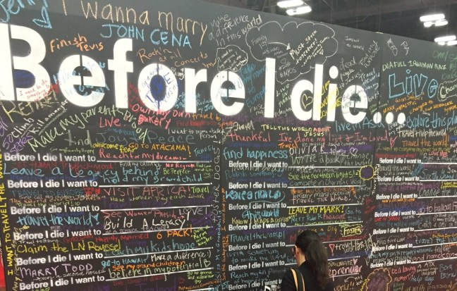 Before I Die - TheDustyParachute.com