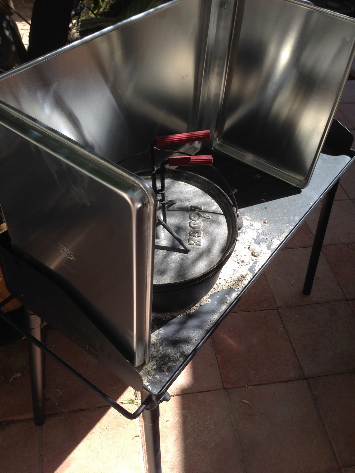 Windscreen Or Windshield For Your Dutch Oven Or Camp Stove