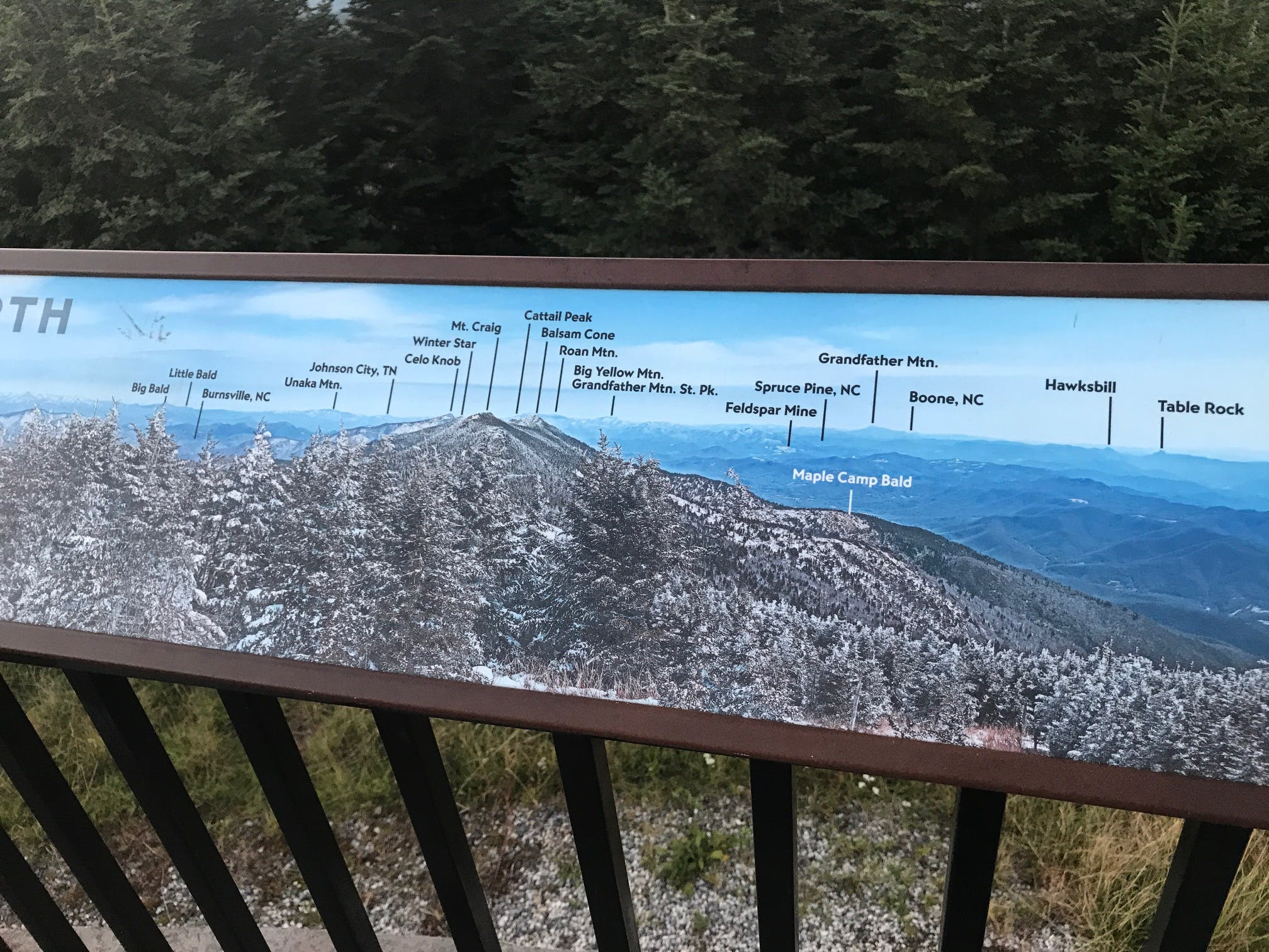 Hikers can still access the mt. Review Of Mount Mitchell State Park The Dyrt