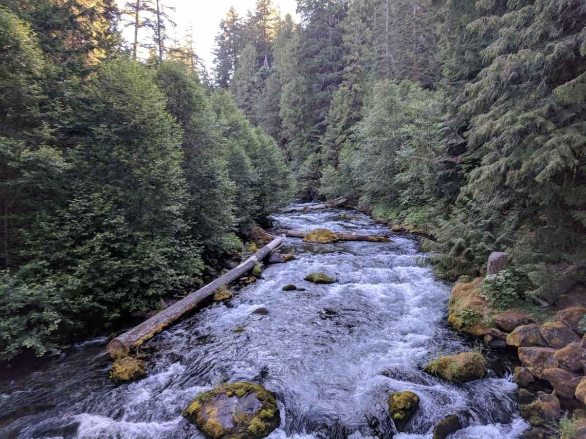 River near Umpqua Hot Springs, Oregon