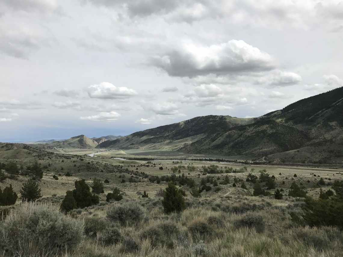 panoramic views of lewis and clark campgrounds in montana