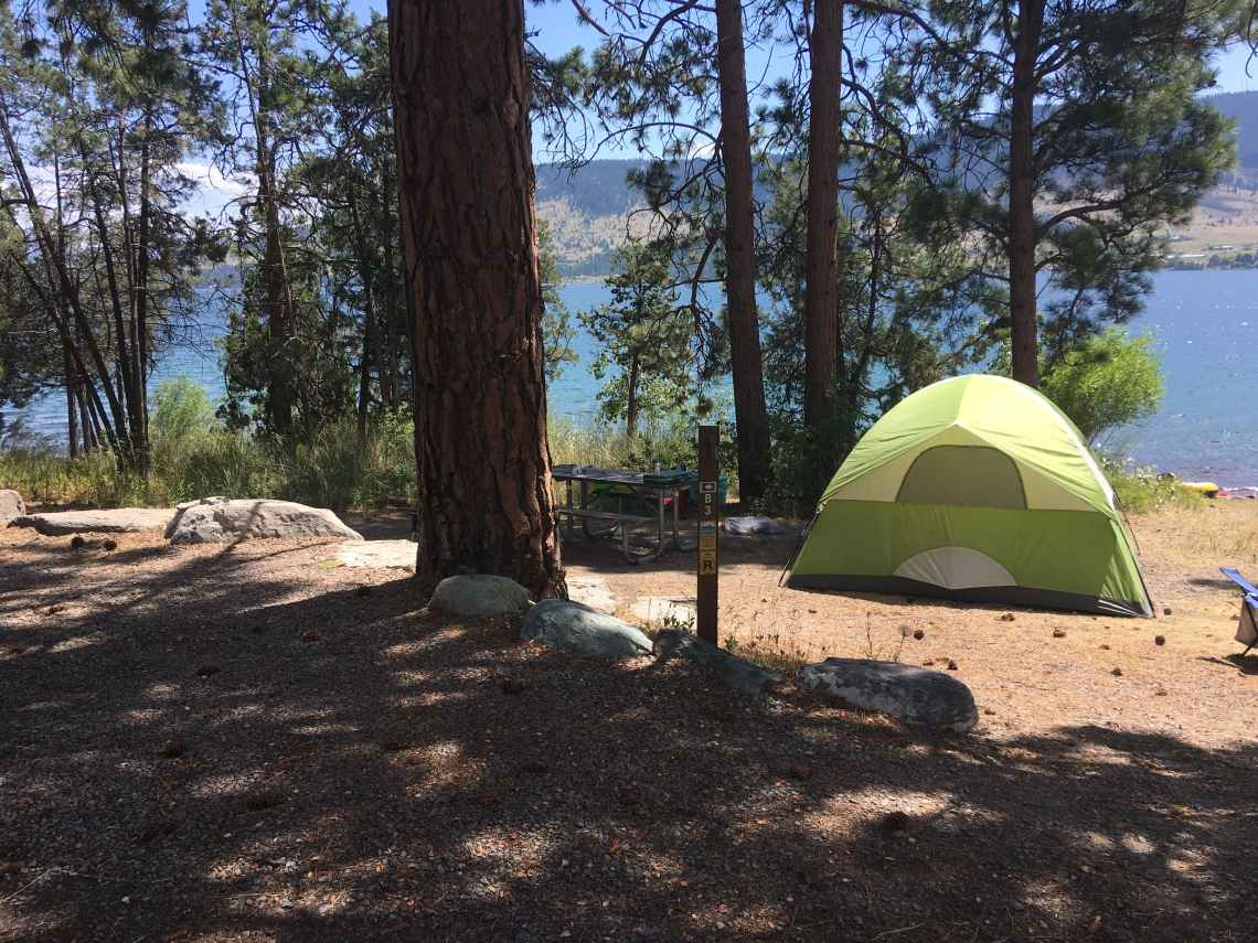 big arm state park campgrounds in montana