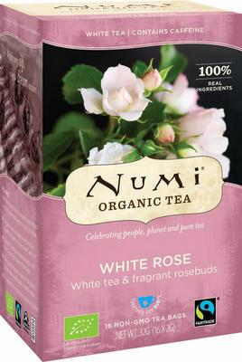 Numi Witte thee white rose 16bui