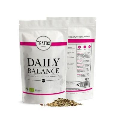 Teatox Bio Thee Daily balance tea lemongrass bio refill 50 Gram