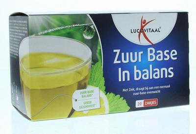 Lucovitaal Zuurbase thee 20st