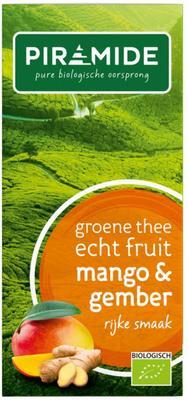 Piramide Groene thee mango en gember 20st