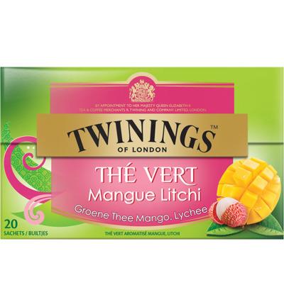 Twinings Groene Thee Mango Lychee (20st)
