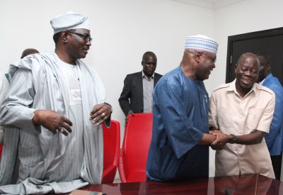 Image result for Peter Obi and  Oshiomhole