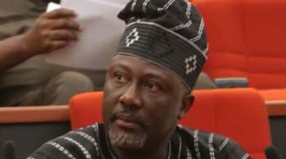 Image result for Senator Dino Melaye trapped in FCT High Court
