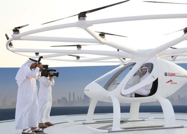 Image result for Dubai Launches Self-Flying Taxis, World's First