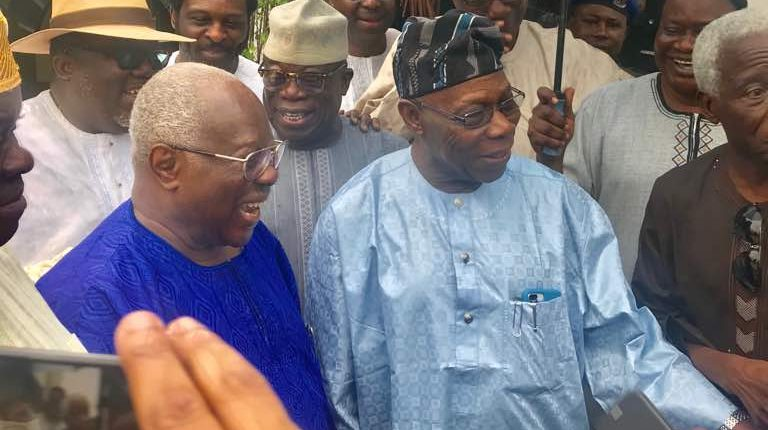 Image result for My rift with Obasanjo handiwork of devil – Bode George