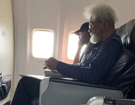 Tonye Cole reveals how young Nigerian 'disrespected' Prof. Wole Soyinka on a flight