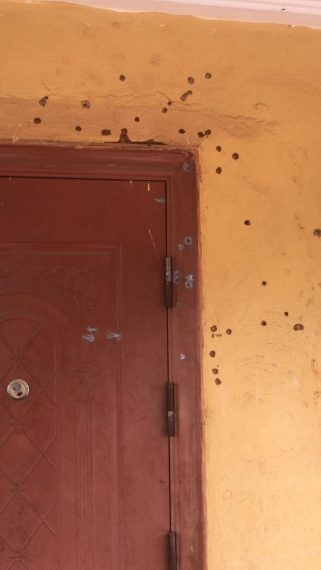 IMG 20200825 WA0072 Edo 2020: Photos as gunmen rain bullets on house, vehicles of Obaseki's key loyalist