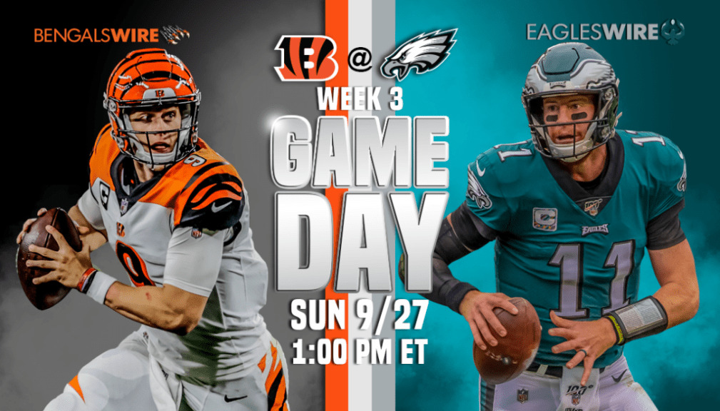Eagles Vs Bengals 5 Reasons For Concern In Week 3