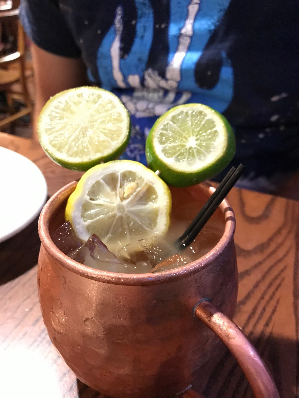 Limoncello Mule