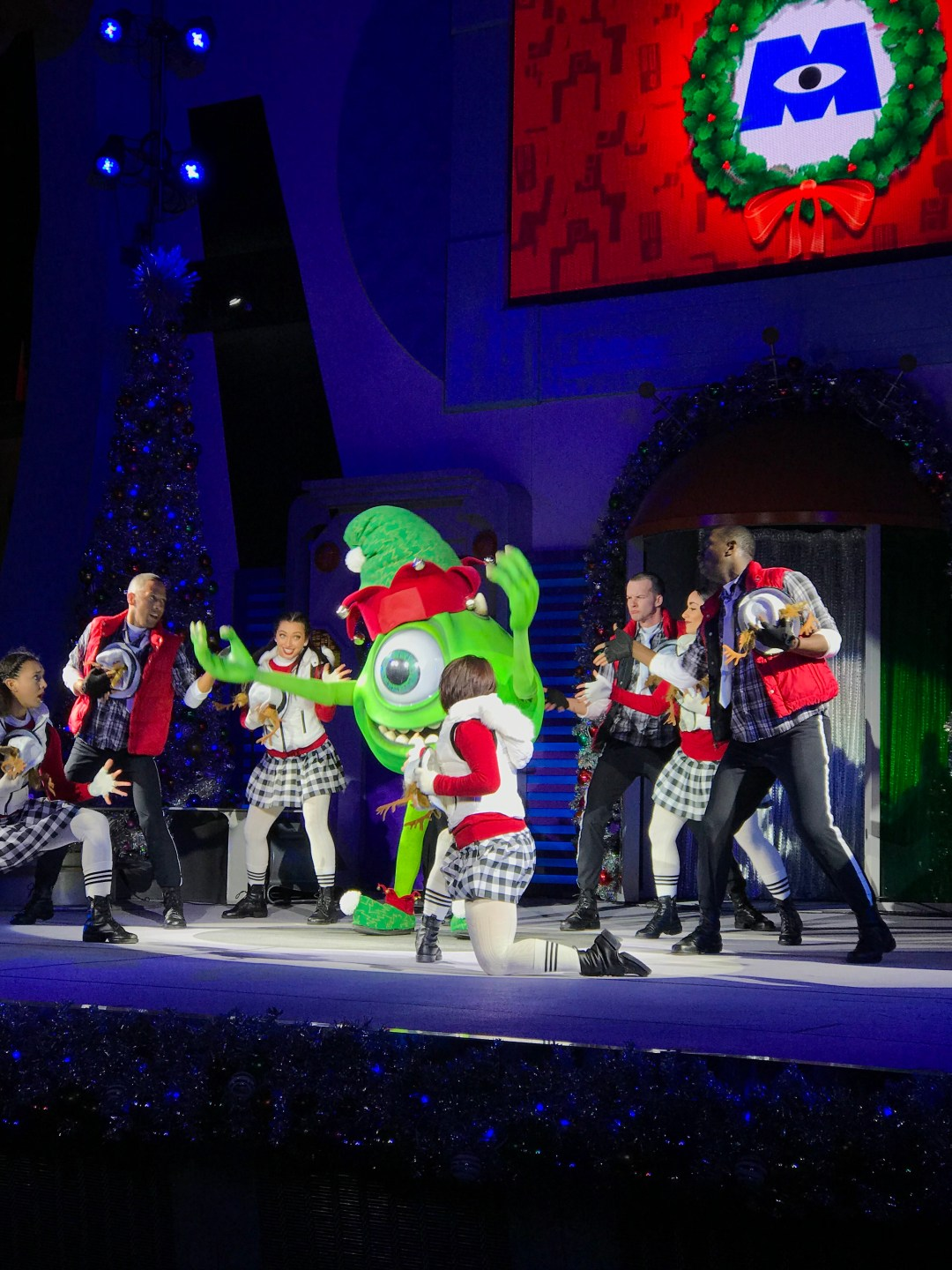 Mike Wazowski in A Totally Tomorrowland Christmas