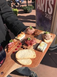 Charcuterie Palette - Epcot International Festival of the Arts