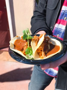 Tacos de Puerco - Epcot International Festival of the Arts