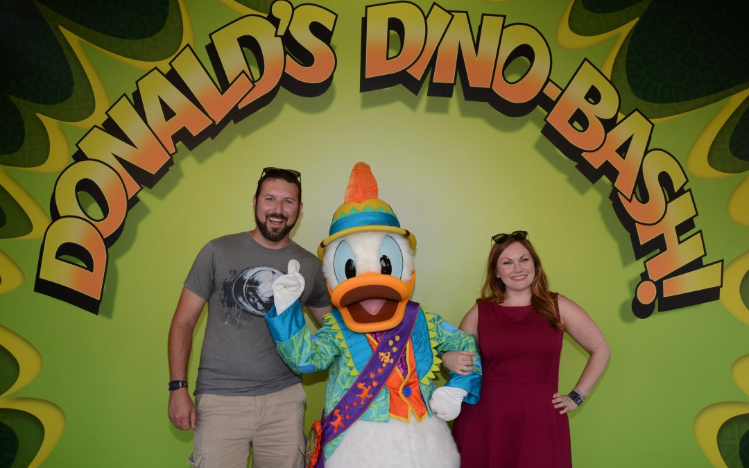 Donald's Dino-Bash: Meet Uncle Scrooge, Launchpad McQuack, Dino Chip & Dale, and More!
