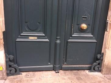 Doorway in northern Paris..