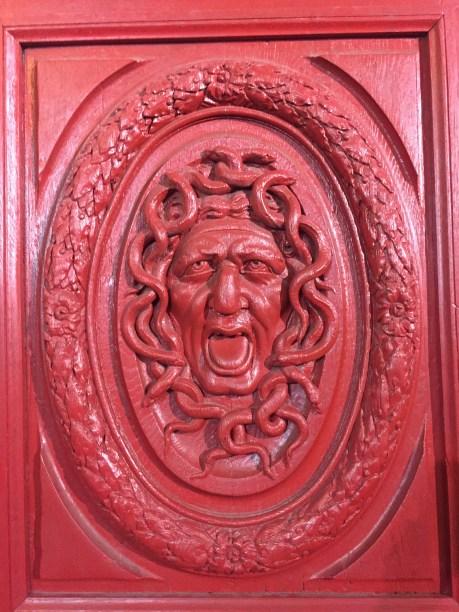 Wonder what's behind this door?